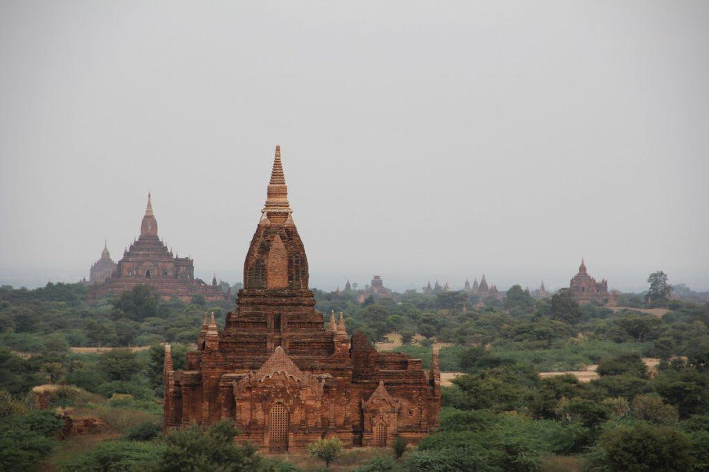 Bagan Myanmar - Birma świątynie