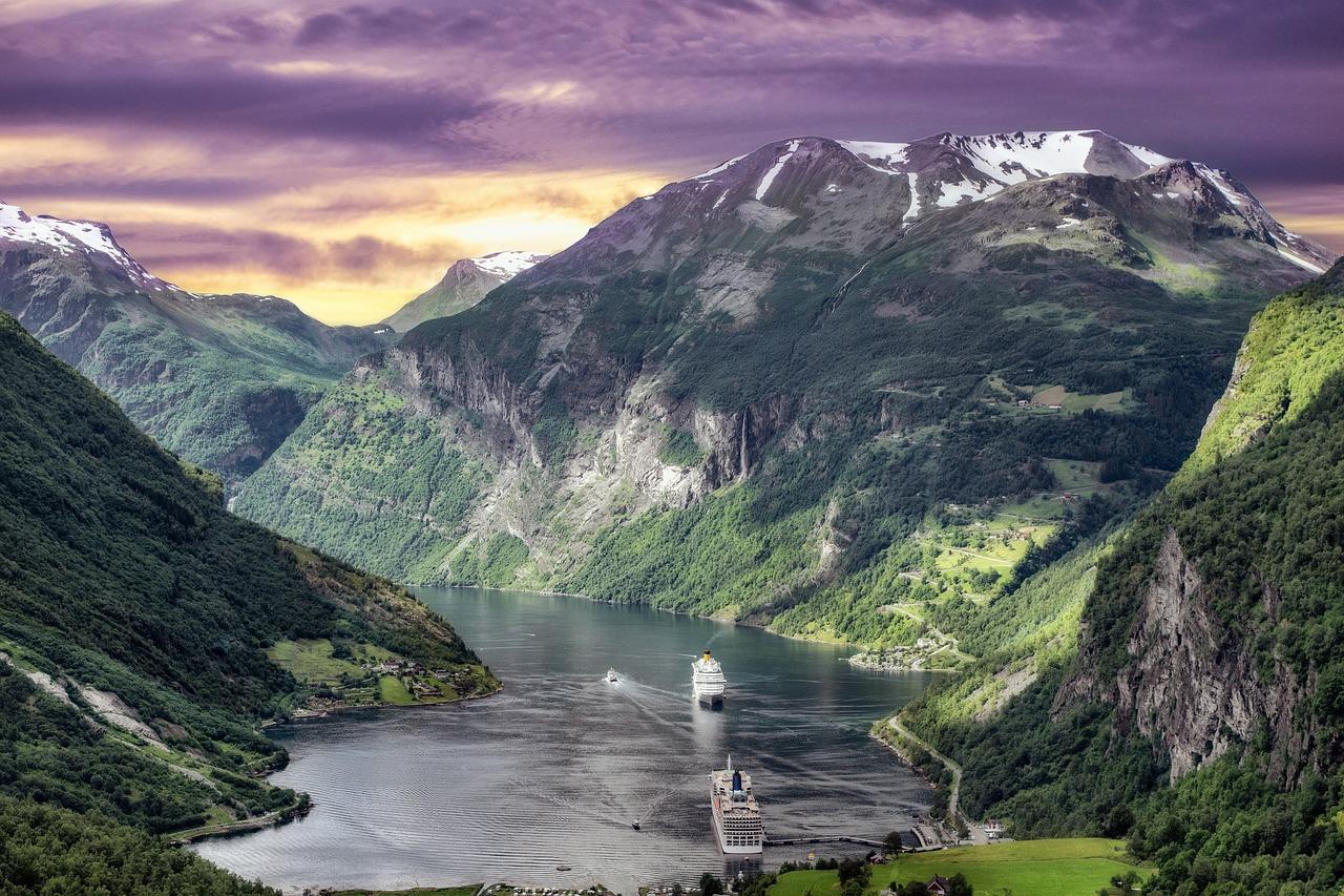 Norweskie fiordy które warto zobaczyć.