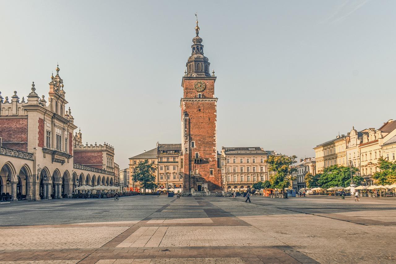 Wyjazd do Krakowa z dziećmi.